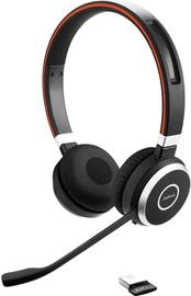Ausinės Jabra Evolve 65 UC Black, belaidės