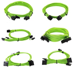 EVGA Power Supply Cable Set Green 100-G2-13GG-B9