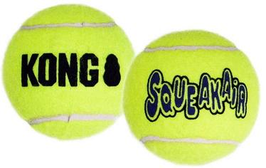 Игрушка для собаки Kong Air Squeaker Tennis Ball Large, 2 шт.
