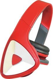 Ausinės Vakoss SK-428HR Over-Ear Headphones Red
