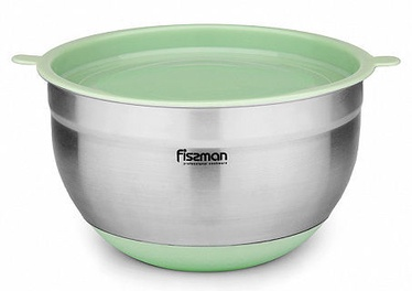 Fissman Mixing Bowl With Silicone bottom And PE Lid 16x10cm 1.5l