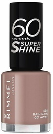 Rimmel London 60 Seconds Super Shine 8ml Nail Polish 498