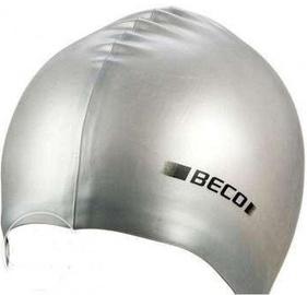 Beco Silicone Swimming Cap Silver