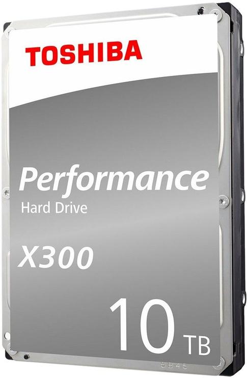 Toshiba X300 10TB 7200RPM SATA III 256MB BULK HDWR11AEZSTA