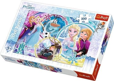 Trefl Puzzle  Frozen The Land Of Friendship 100pcs