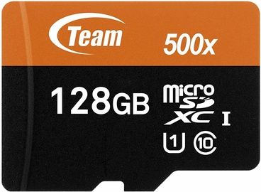 Team Group 128GB microSDXC UHS-I U1 w/Adapter