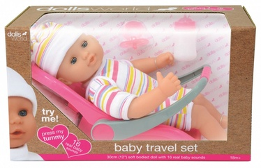 Dolls World Doll Baby Travel Set 	016-08866