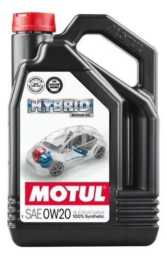 Motul Hybrid 0W20 Motor Oil 4l