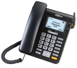 Телефон Maxcom MM28D Black