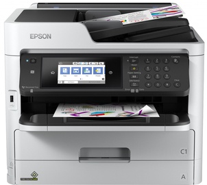 Multifunktsionaalne printer Epson Workforce Pro WF-C5710DWF, tindiga, värviline