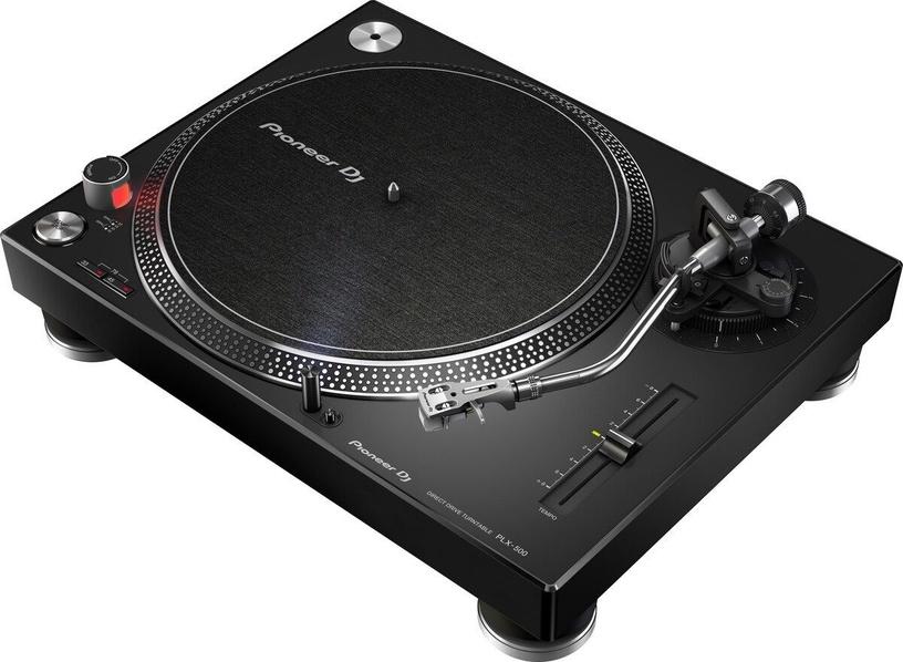 Plaadimängija Pioneer DJ PLX-500 Black, 10.7 kg