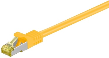 Goobay Rj-45 Patch Cable CAT 6A S/FTP 30m Yellow