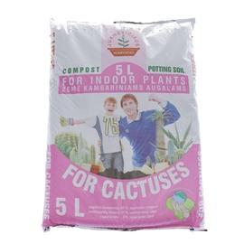 Komposto mišinys kaktusams Juknevičiaus, 5 l