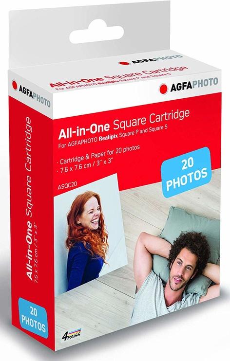 AgfaPhoto Cartridge & Paper ASQC20