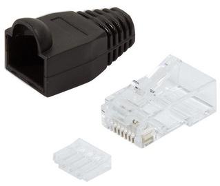 Logilink Cat. 6 Plug Connector x 100 Unshielded Black
