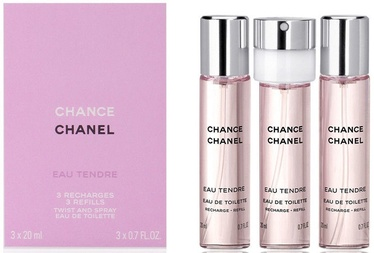 Chanel Chance Eau Tendre Refill 3x20ml EDT