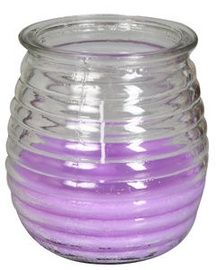 Verners Candle 9x10.8cm Purple