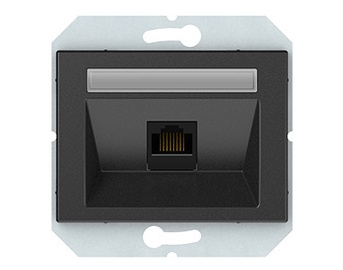 Kompiuterio lizdas Vilma XP500, antracito spalvos
