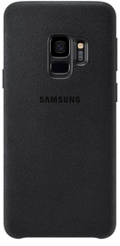 Samsung Alcantara Back Cover For Samsung Galaxy S9 Black
