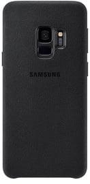 Samsung Alcantara Back Cover For Samsung Galaxy S9 Black