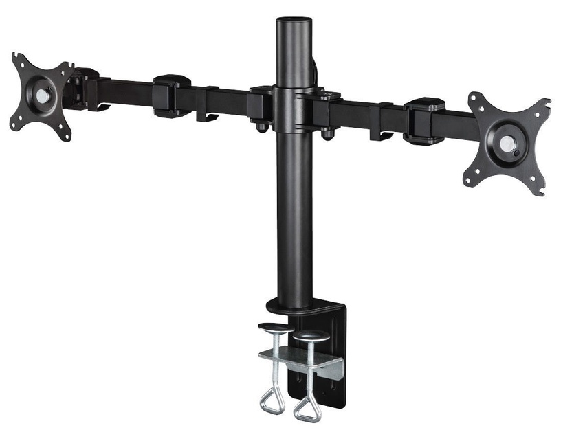 Hama FullMotion Arm for 2 Screens 10-26 Black