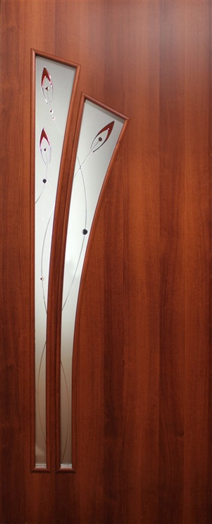 Vidaus durų varčia Dekor Palma, riešuto, 700X2000 cm