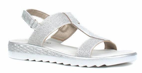 Basutės, Tamaris Sandal 1-1-28241-22 Silver 39