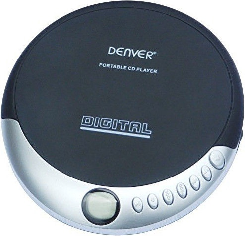 Музыкальный проигрыватель Denver DM-25, черный, - ГБ