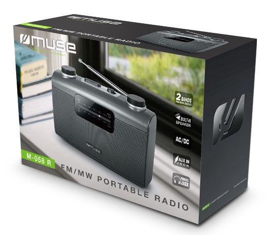 Muse Portable Radio M-058R