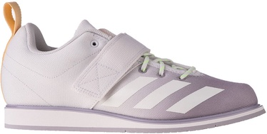 Adidas Powerlift 4 Shoes FU8166 White/Purple 42