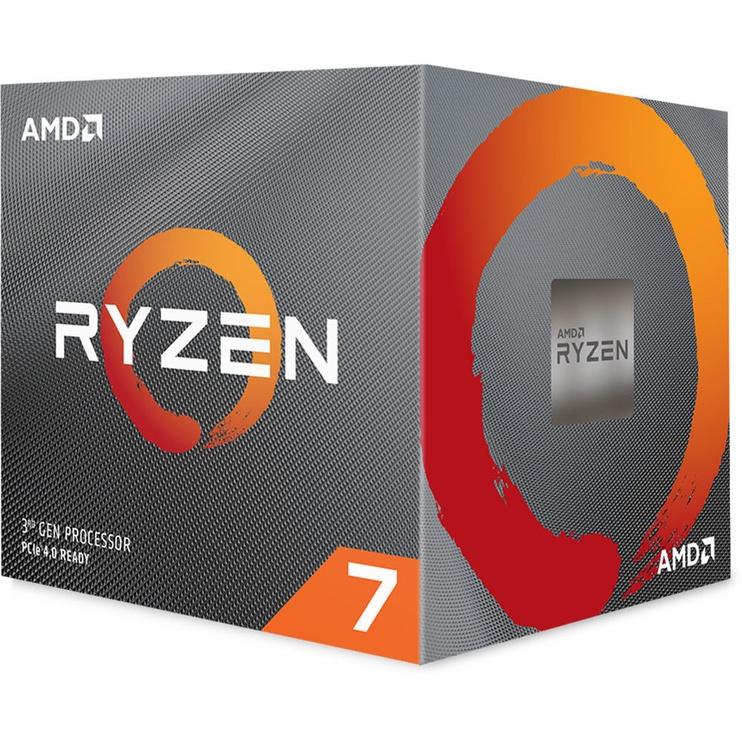 Procesors AMD Ryzen 7 3800X 4.5GHz 32MB AM4 100-100000025BOX, 3.9GHz, AM4, 32MB