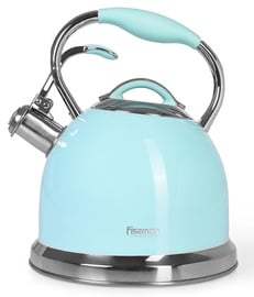 Fissman Felicity Whistling Tea Kettle 2.6l Blue
