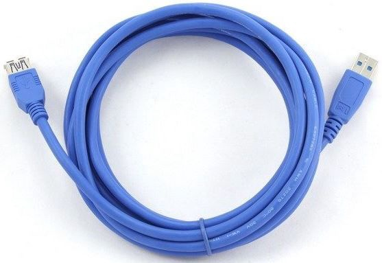 Gembird Cable USB to USB Blue 3m