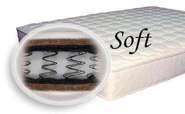 Matracis SPS+ Soft, 80x200x19 cm