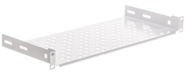 Riiul Netrack Equipment Shelf 19'' 1U 200mm Gray