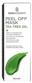 Skin Academy Peel Off Mask Tea Tree Oil 80ml