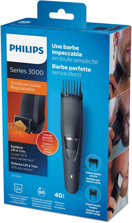 Philips Beardtrimmer Series 3000 BT3236/14