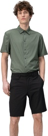 Audimas Wrinkle Free Stretch Fabric Shorts Black 50