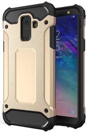 Hurtel Hybrid Armor Back Case For Samsung Galaxy A6 Gold
