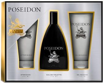 Набор для мужчин Instituto Español Poseidon Gold Ocean 150 ml EDT + 150 ml After Shave + 150 ml Shower Gel