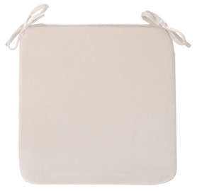 Home4you Deluxe 2 Chair Pad 39x39cm Creamy