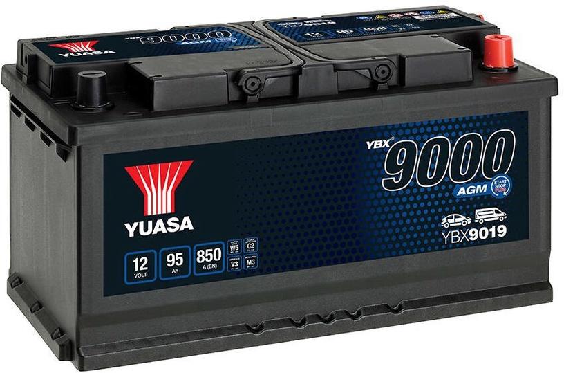 Аккумулятор Yuasa, 12 В, 95 Ач, 850 а