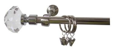 Viengubo karnizo komplektas Futura F516186, 300 cm, Ø 19 mm
