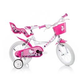 """Vaikiškas dviratis Hello Kitty 144R-HK, 14"""""""