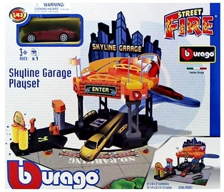 Bburago Street Fire Skyline Garage 18-30358