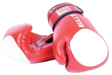 Bull's TT-2001-10 Boxing Gloves Red 10oz