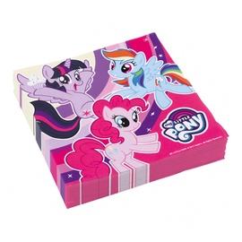 Popierinės servetėlės My little pony, 33 x 33 cm, 20 vnt