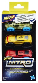 Hasbro Nerf Nitro Foam Car 3-Pack C0774