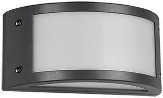 Trio Kendal antracīta krāsas sienas LED gaismeklis, IP54, 12W, 1200lm, 3000K