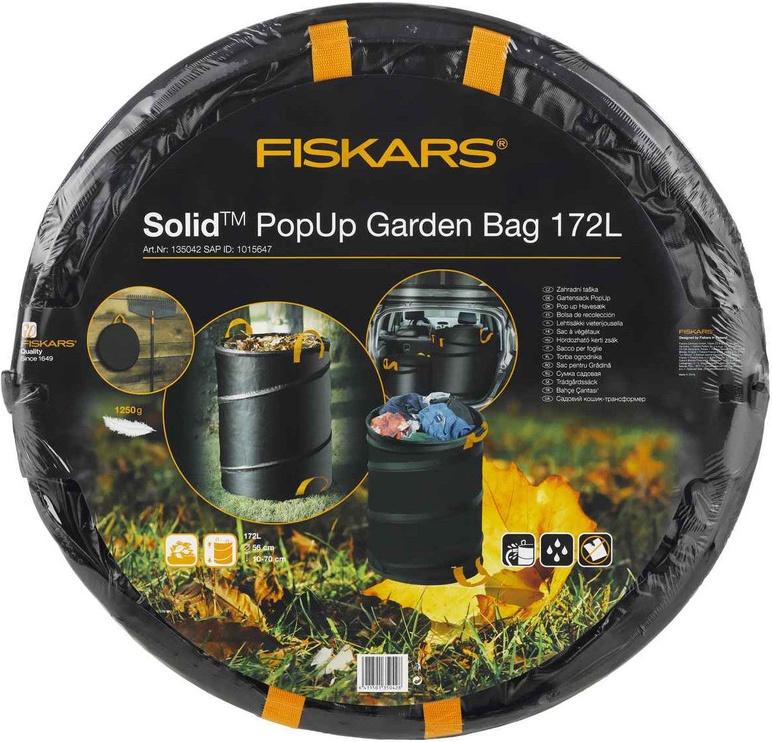 Atkritumu maisi Fiskars Solid PopUp Garden Bag 172l